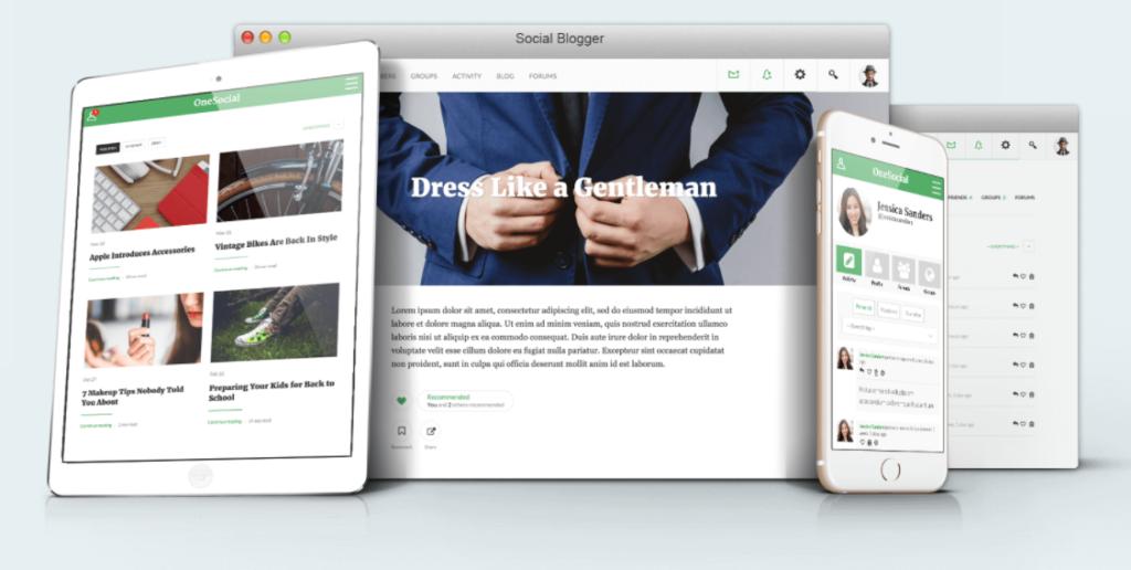 social-blogger-theme