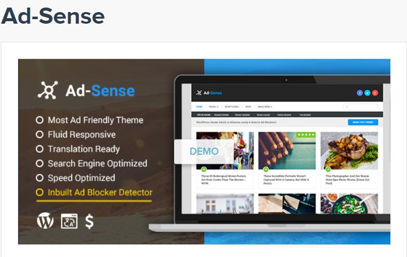 Adsense Theme By MyThemeShop