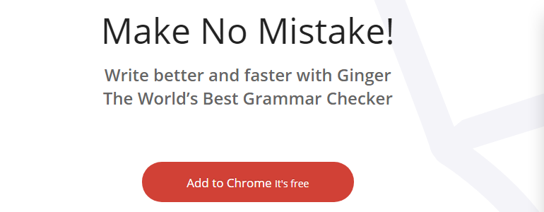 Ginger Free Grammar Checker