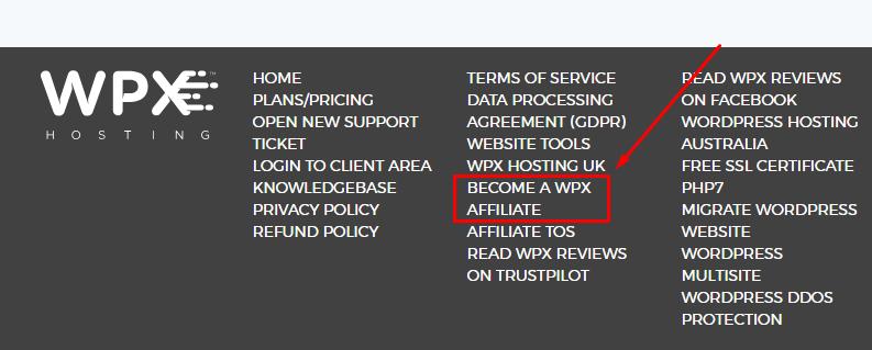 Become a WPX Hosting Affiliate