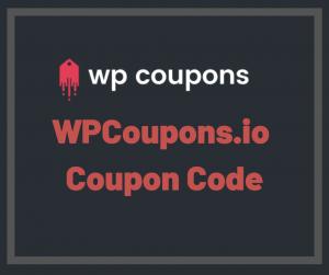 WPCoupons Coupon Code